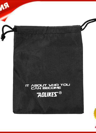 Сумочка для фитнес резинок AOLIKES Black Vet