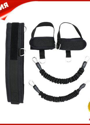 Эспандер Dobetters DBT-L01 Black для силовых упражнений ног Vet