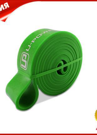Резиновая петля для тренировок U-POWEX 001 Green 2080*44*4,5mm...
