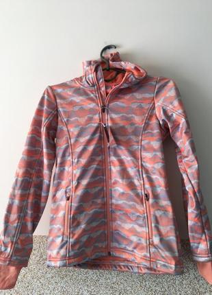 Профессиональная куртка на микрофлисе  146-152
