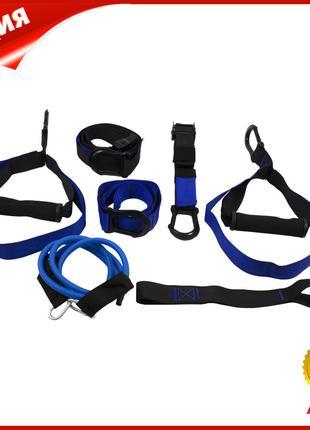 Тренировочные петли Maidi P3 Pro-5 Black + Blue подвесные ремн...