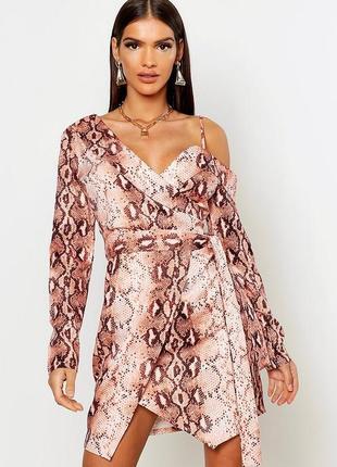 Нереальное платье блейзер asos, платье пиджак в принт на одно ...