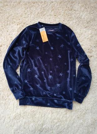 Велюровая кофта свитер young style джемпер