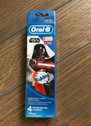 Насадки для зубних щіток oral-b kids зоряні війни (ціна за одн...
