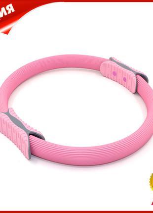 Эспандер кольцо для фитнеса и пилатеса Dobetters M1 Pink диаме...