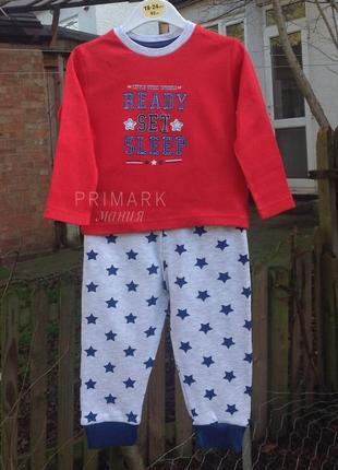 Трикотажная пижама для мальчика (86 cм) primark