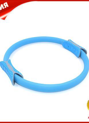 Эспандер кольцо для фитнеса и пилатеса Dobetters M1 Blue диаме...