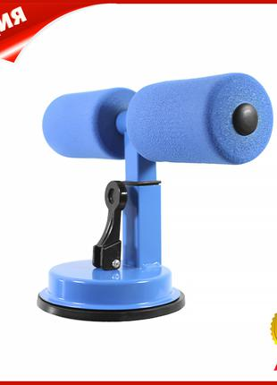 Тренажер-держатель для пресса напольный Lesko MJ-034 Blue на п...