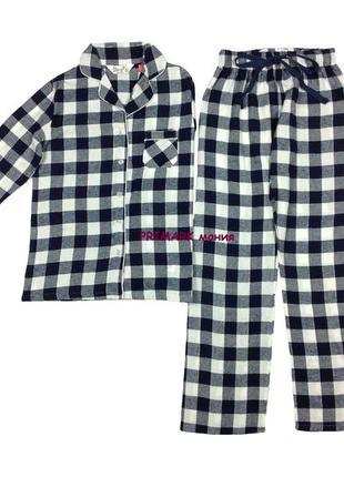 Женская фланелевая пижама все размеры primark
