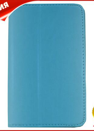 ➤Чехол-подставка LESKO Call 7 дюймов Blue для планшета защитны...