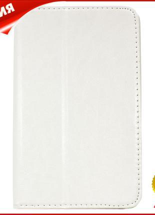 ☀Чехол для планшета LESKO Call 7 дюймов White универсальный за...