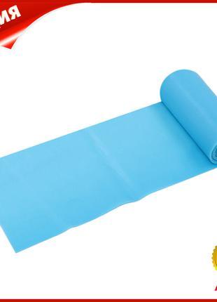 Лента эластичная для фитнеса йоги Dobetters TPE Blue 1800*150*...