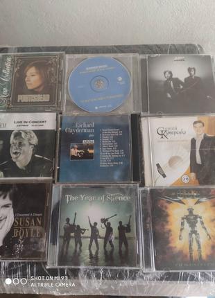 Сд Cd диски разные,Udo ,BlueSystem, RichardClayderman, Air и т.д.