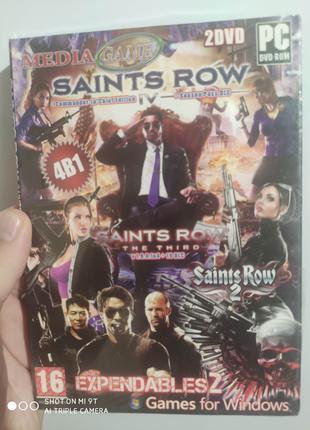 Saints row2,The Expendables 2 новый запечатанный.