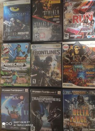 Игры для ПК Аватар,Delta Force,Styx,The Run, Minecraft и т.д 9шт.