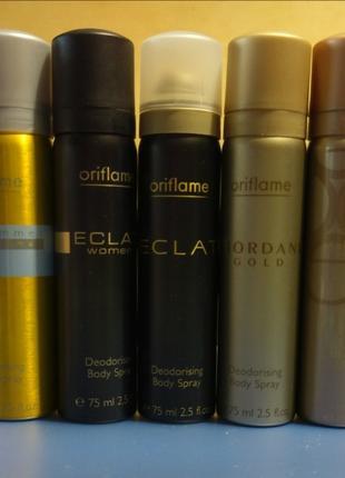 Парфюмерный спрей-дезодорант Eclat Midsu раритет орифлей Oriflame