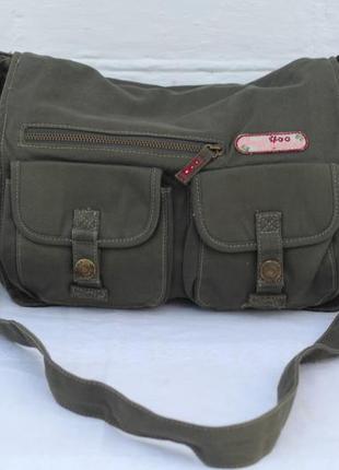 Коттоновая сумка через плечо nole ronuince