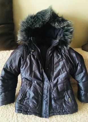 Куртка для дівчинки, ріст 140