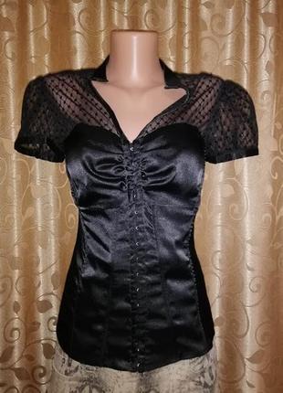 ✨✨✨красивая женская блузка, рубашка с корсет new look🔥🔥🔥
