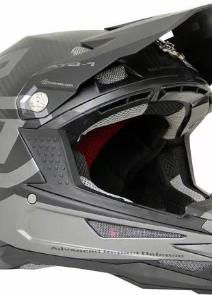Шлем велосипедный 6D ATB-1 Carbon Macro Down Hill Full-Face Helme