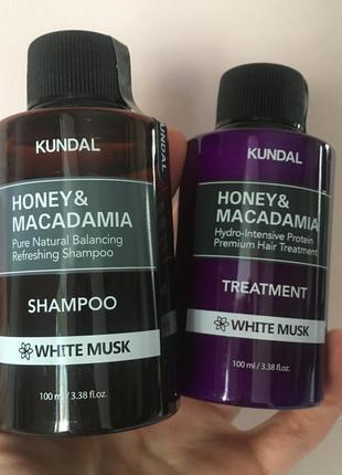 Комплекс для волос лечение, питание: шампунь, маска