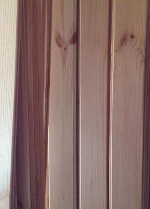 Вагонка дерев'яна сосна