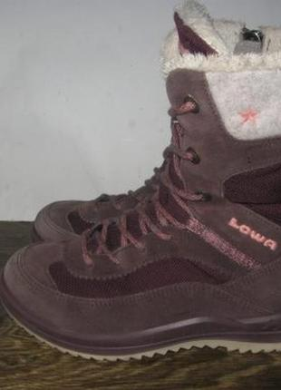 Зимние ботинки lowa goretex р.28