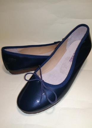 Туфли балетки лаковая кожа eur 39