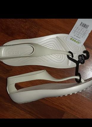 Босоножки crocs sexi flip w8
