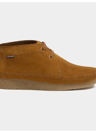 Кожаные ботинки pull&bear