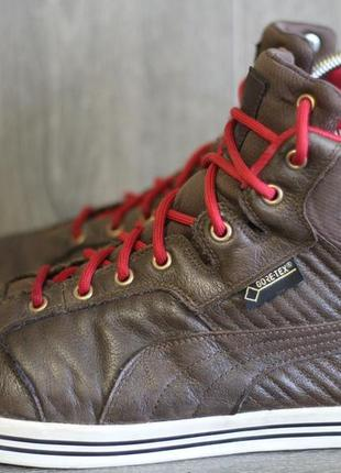 Кожаные ботинки puma gore tex 45-46