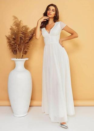 Нежное платье на свадьбу