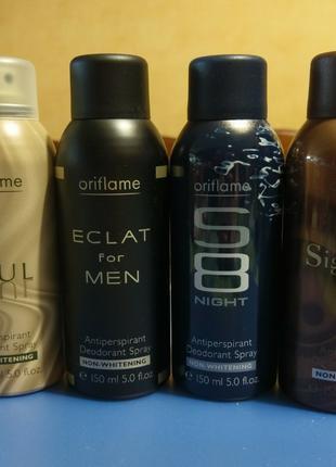 Спрей дезодорант-антиперспирант для мужчин Раритет Oriflame Орифл