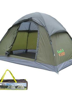 Палатка 2-х местная GreenCamp 1503.