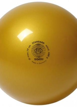 Мяч гимнастический 400гр, Togu, золото
