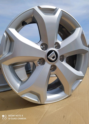 Диски литые оригинал Dacia Renault DUSTER R16(5*114,3)et50