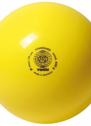 Мяч гимнастический 400гр, Togu, желтый