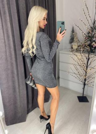 Новогоднее платье, мерцающее платье для вечеринки