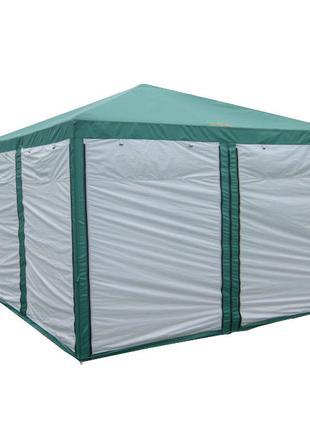 Палатка, шатер туристический, садовый с москитной сеткой Green...