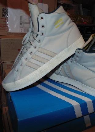 Кроссовки кеды adidas ткань и кожа оригинал