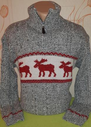 Нарядный свитер от juliano, made  in italy, оригинал,