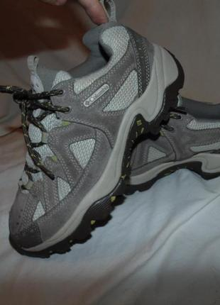Кроссовки ботинки columbia оригинал замша и кожа
