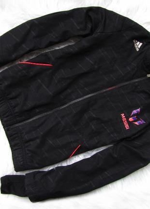 Стильная куртка кофта  с капюшоном  adidas messi