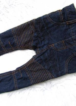 Стильные утепленные джинсы штаны брюки zeeman