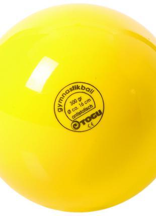 Мяч гимнастический 300гр, Togu, желтый
