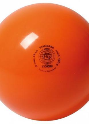 Мяч гимнастический 400гр, Togu, оранжевый
