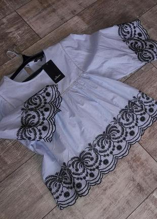 Шикарная фирменная блуза р. м/l