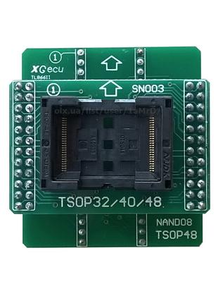 Адаптеры NAND для Xgecu (MiniPro) TL866 II+ / BGA63 TSOP48 NAND08