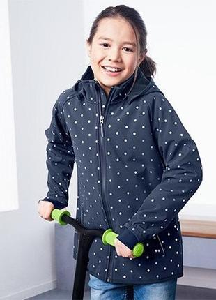 Удлиненная деми куртка/дождевик softshell , мембрана 3000 tchi...
