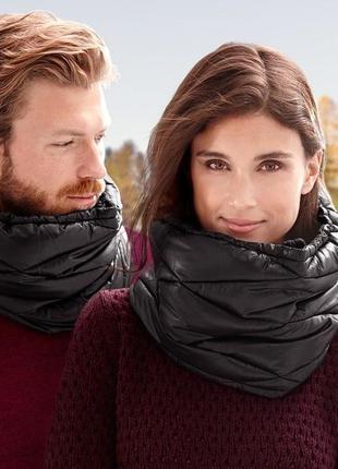 Теплый качественный снуд-шарф непродуваемый от tchibo(германия...